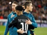 """Bóng đá - Neymar chỉ lo """"cày tiền"""": Làm loạn PSG, lơ là đại chiến Real - Ronaldo"""