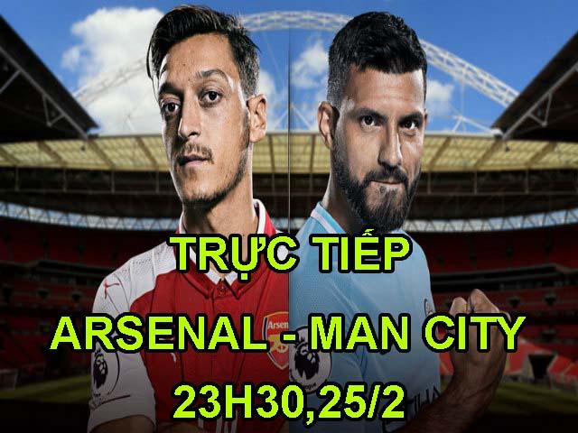 Chi tiết Arsenal – Man City: Kết cục an bài (KT) 23