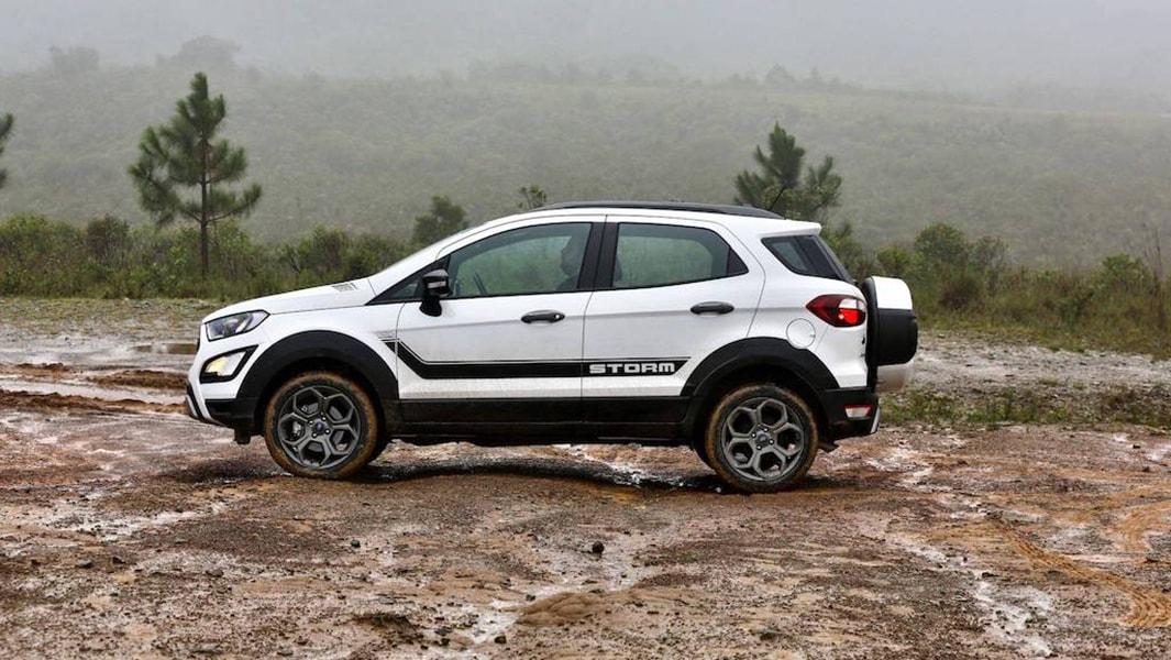 Ford EcoSport Storm 2018 phiên bản hiệu năng cao sử dụng hệ dẫn động 4 bánh - 2
