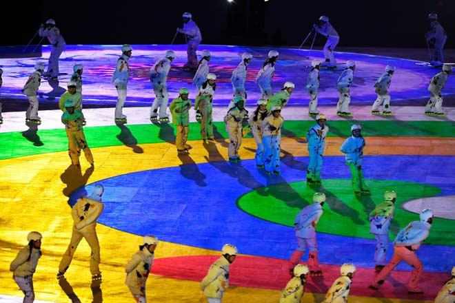 Bế mạc Olympic mùa đông 2018: Siêu phẩm sắc màu, bữa tiệc hoành tráng 1