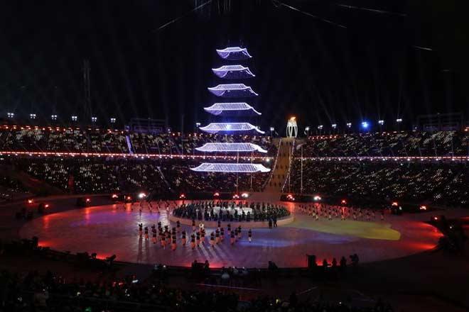 Bế mạc Olympic mùa đông 2018: Siêu phẩm sắc màu, bữa tiệc hoành tráng 7