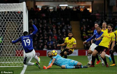 Chi tiết Watford - Everton: Phút bù giờ đau tim (KT) 20