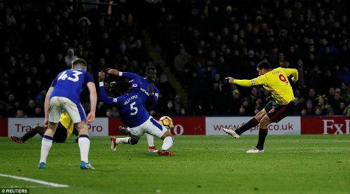 Chi tiết Watford - Everton: Phút bù giờ đau tim (KT) 24