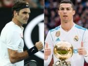 """Bóng đá Tây Ban Nha - Hấp dẫn: Federer - Nadal đấu Ronaldo - Messi giải """"Oscar thể thao"""""""