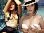 Đời sống Showbiz - Vẻ nóng bỏng của hai mỹ nhân thích khoe ngực trên The Face Thái