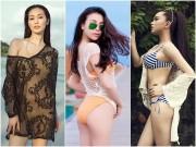 Thời trang - Mỹ nhân Việt kín hở với áo lưới đầy khiêu khích