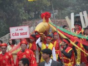 Tin tức trong ngày - Độc đáo lễ hội cầu ngư - rước cá Sủ vàng