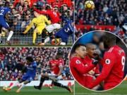 """Bóng đá - MU thắng Chelsea: Bước ngoặt mùa giải, báo chí """"chết mê"""" Lukaku - Mourinho"""