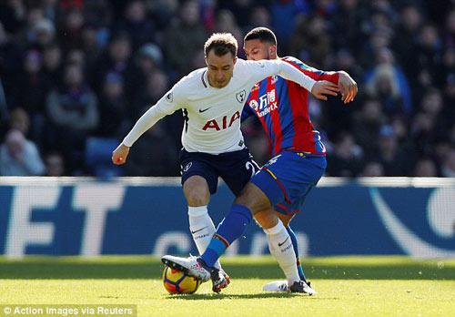 TRỰC TIẾP Crystal Palace - Tottenham: Tân binh Moura vào trợ chiến Kane 20