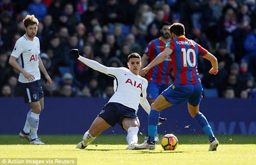 TRỰC TIẾP Crystal Palace - Tottenham: Tân binh Moura vào trợ chiến Kane 23