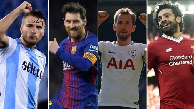 """Đua Giày vàng: Messi - Kane - Salah chung mâm, Ronaldo """"ra rìa"""" 1"""