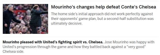 """MU thắng Chelsea: Bước ngoặt mùa giải, báo chí """"chết mê"""" Lukaku - Mourinho 3"""