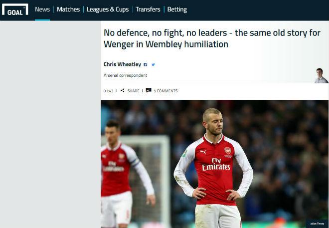 Man City giành cúp, fan Arsenal hổ thẹn, báo chí Anh đòi sa thải ngay Wenger 9