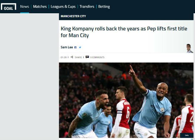 Man City giành cúp, fan Arsenal hổ thẹn, báo chí Anh đòi sa thải ngay Wenger 6