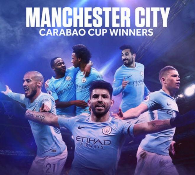 Man City vô địch League Cup: Lịch sử gọi tên Pep, Aguero, nhấn chìm Wenger 1