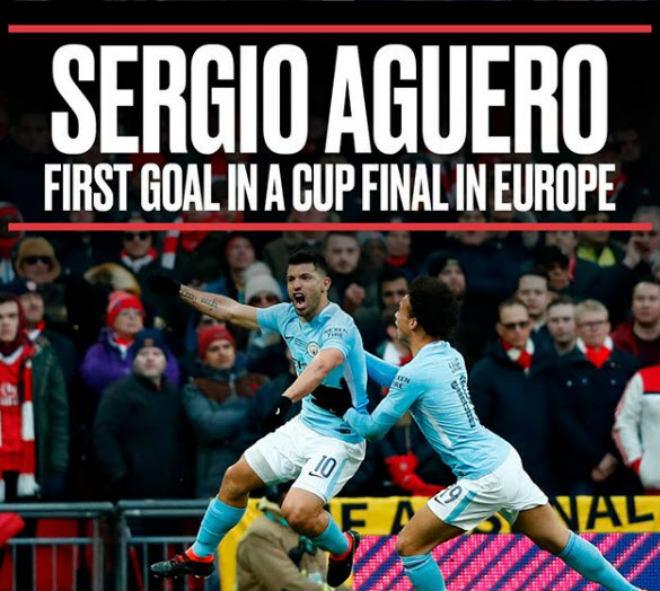 Man City vô địch League Cup: Lịch sử gọi tên Pep, Aguero, nhấn chìm Wenger 4