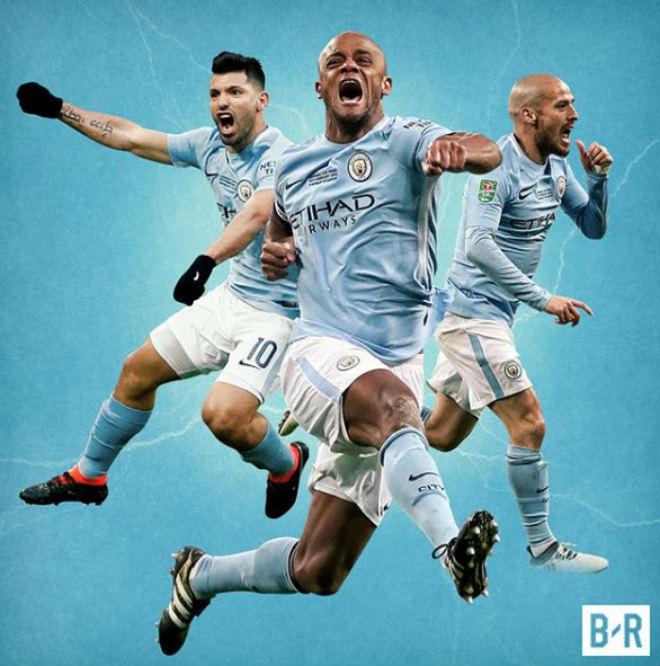 Man City vô địch League Cup: Lịch sử gọi tên Pep, Aguero, nhấn chìm Wenger 3