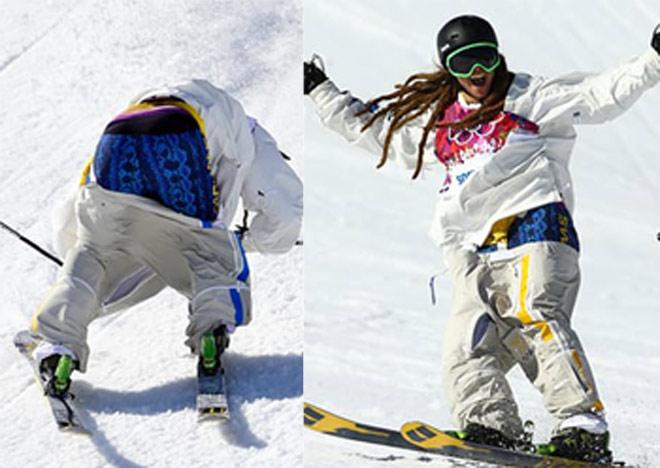 """Tai nạn """"đỏ mặt"""" ở Olympic: Đứt váy, tuột quần, lộ điểm """"nhạy cảm"""" 4"""