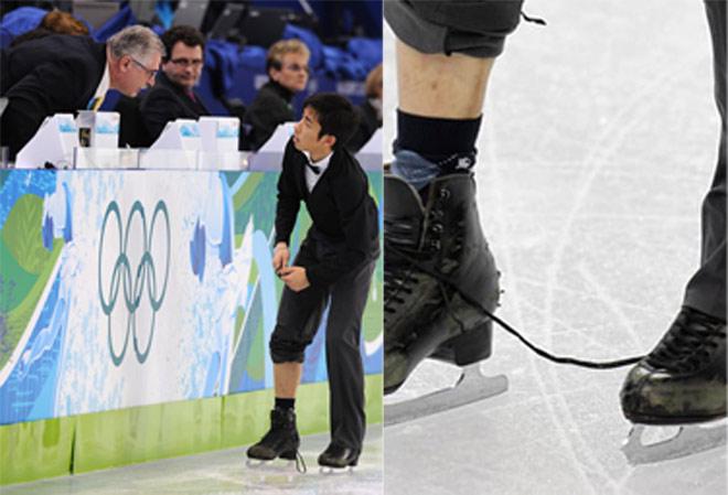 """Tai nạn """"đỏ mặt"""" ở Olympic: Đứt váy, tuột quần, lộ điểm """"nhạy cảm"""" 6"""