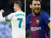 Bóng đá - Tiêu điểm vòng 25 La Liga: Ronaldo chơi đẹp, Messi khắc tên vào lịch sử