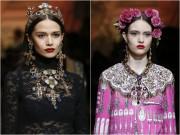 Thời trang - Cả Milan choáng ngợp với những nữ thần Dolce & Gabbana