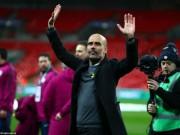 """Bóng đá - Man City vô địch League Cup: Pep mơ ẵm cúp C1, sẵn sàng """"giơ đầu"""" chịu phạt"""