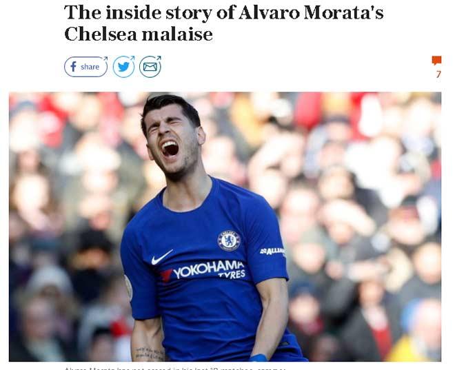 """Morata 75 triệu bảng: """"Ngon giai"""" nhưng quá yếu ở Ngoại hạng Anh 2"""