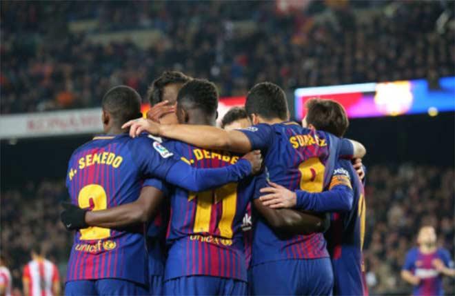 """Barca coi chừng mất ngôi đầu La Liga: Lo ngại """"bộ đôi nhạc rock"""" - 1"""