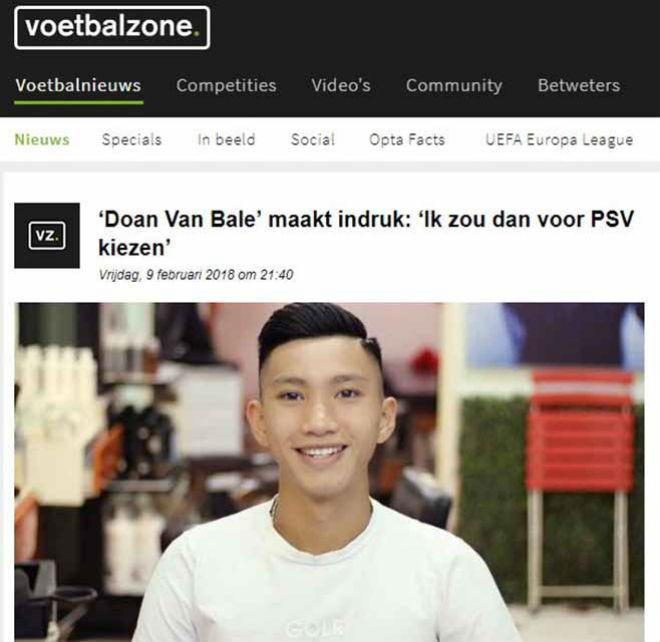 Đoàn Văn Hậu lên báo Hà Lan: Sao Việt nào chơi bóng ở châu Âu? 1
