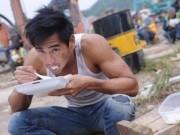 Phim - Những bữa cơm vội của sao ngay tại phim trường