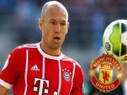 Bóng đá - Bom tấn MU: Robben bí mật đến Carrington, Mourinho sửa sai cho Sir Alex