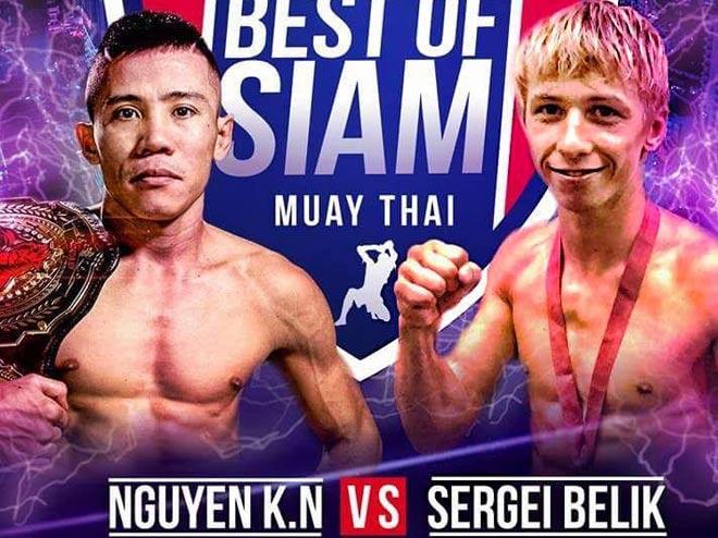 Chấn động Muay Thái: Võ sỹ Việt hạ cao thủ Nga, giật đai WBC thế giới