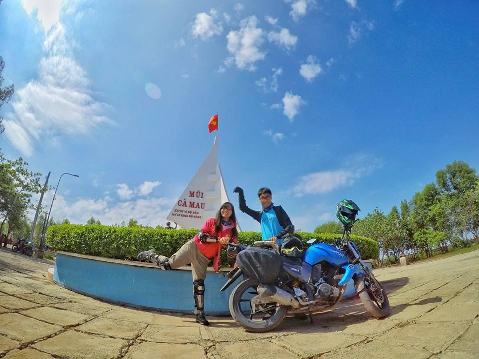 Ghen tỵ với chuyến phượt xuyên Việt bằng xe máy của cặp đôi Hà thành - 11