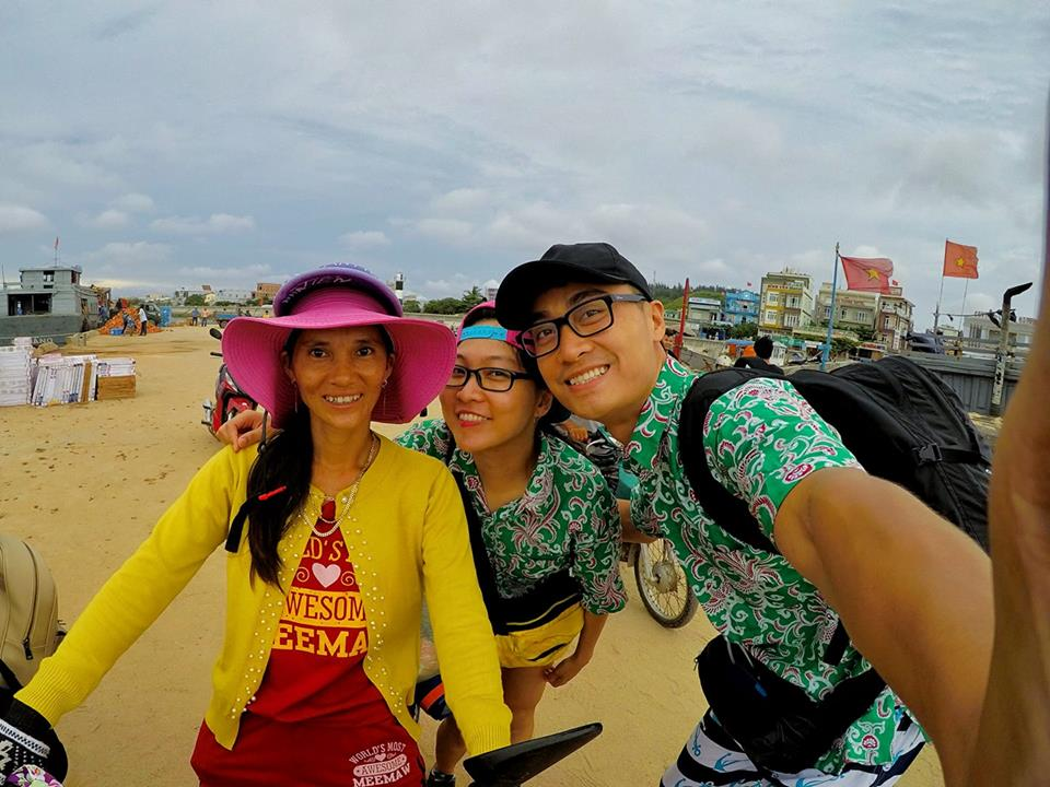 Ghen tỵ với chuyến phượt xuyên Việt bằng xe máy của cặp đôi Hà thành - 3