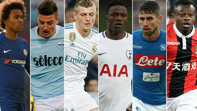 MU thay Carrick & Fellaini: Mourinho nhắm 6 SAO bự 260 triệu bảng 1