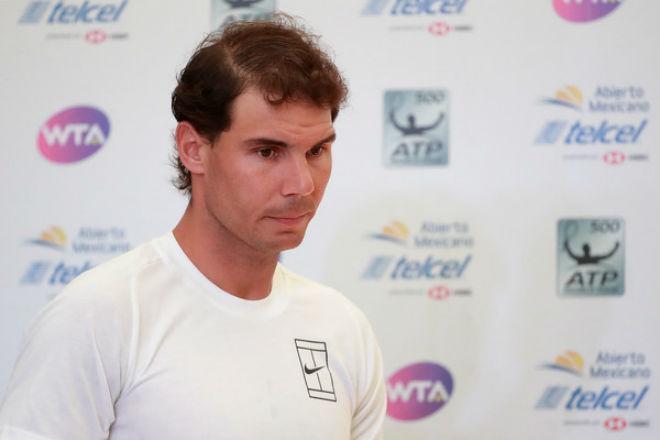 """""""Ác mộng"""" chấn thương: Nadal bỏ Acapulco, lỡ dịp soán ngôi Federer 1"""
