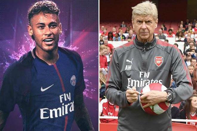 """Wenger hết thời, sắp bị Arsenal """"thải"""": Về PSG làm thầy Neymar? - 2"""