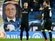 """Bóng đá - Vắng Ronaldo, Real thua đau: Perez giận dữ, đòi """"trảm"""" SAO 500 triệu euro"""