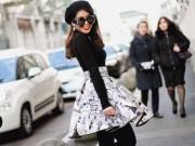 Thời trang - Mẹ và em chồng Hà Tăng sang trọng trên ghế đầu Milan Fashion Week