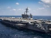 Thế giới - Uy lực siêu tàu sân bay Mỹ sắp đến Việt Nam
