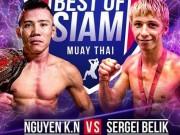 Thể thao - Chấn động Muay Thái: Võ sỹ Việt hạ cao thủ Nga, giật đai WBC thế giới
