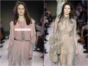 Thời trang - 100% mẫu thả ngực trần: Tuyên ngôn nữ quyền của Blumarine