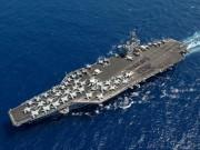 Thế giới - Hình ảnh trên siêu tàu sân bay hạt nhân Mỹ sắp đến Việt Nam