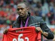 """Bóng đá Ngoại hạng Anh - Usain Bolt """"bỏ"""" CLB nhỏ về MU tháng 6: Nước cờ tinh quái, thế giới ngã ngửa"""