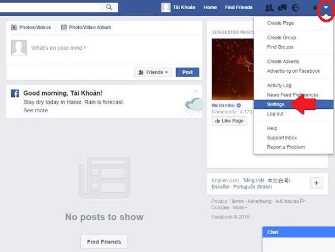 Hướng dẫn xóa Facebook cập nhật mới nhất 2018