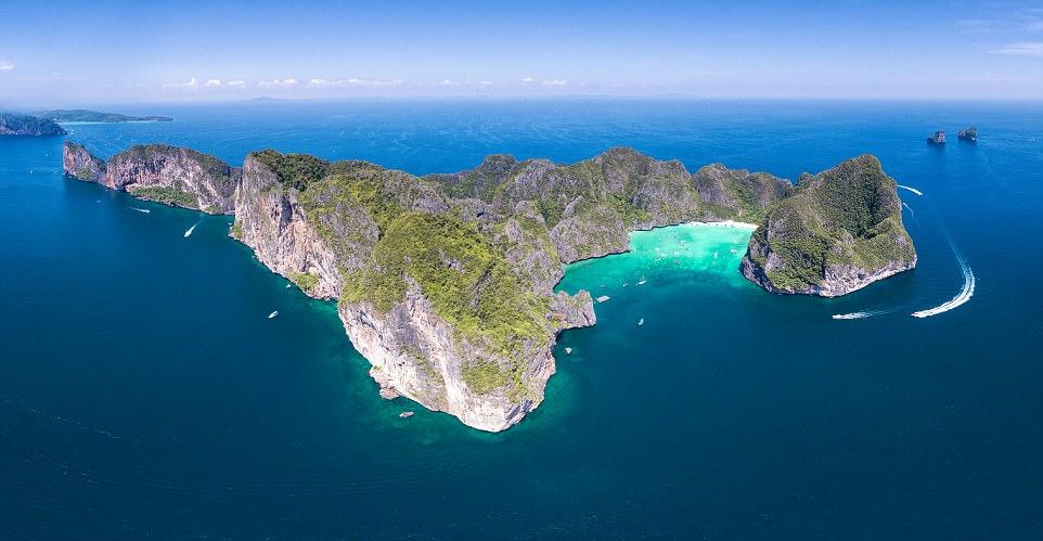 Ngắm vùng vịnh Maya tuyệt đẹp trước khi đóng cửa vì quá tải - 4