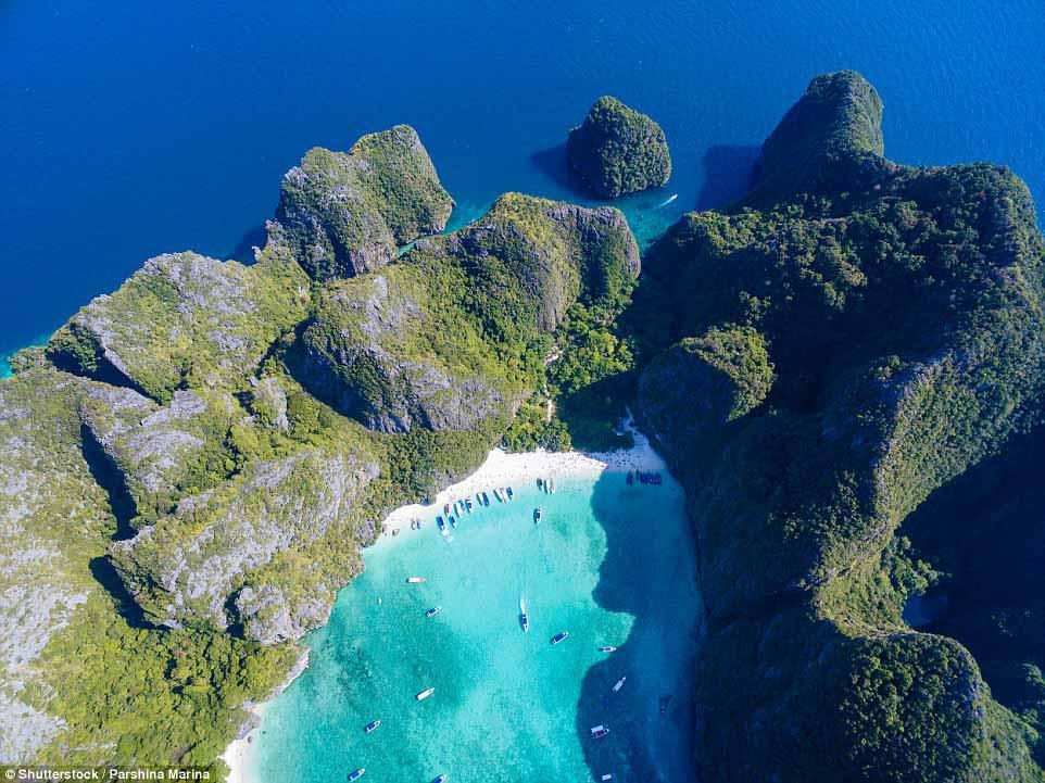 Ngắm vùng vịnh Maya tuyệt đẹp trước khi đóng cửa vì quá tải - 3