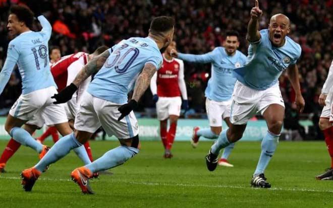 Arsenal – Man City: Thừa thắng vùi hoa dập