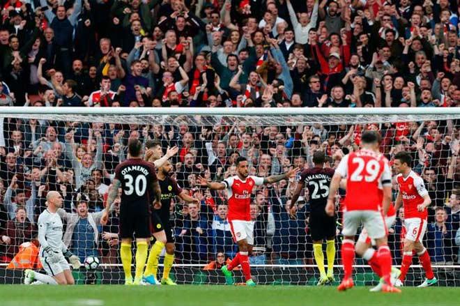 """Arsenal – Man City: Thừa thắng vùi hoa dập """"Pháo"""", tiến gần ngai vàng 2"""