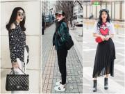 Thời trang - Kỳ Duyên và Diệp Lâm Anh dắt tay nhau vào bảng xếp hạng mặc đẹp